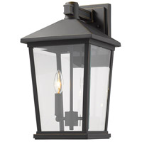 Z-Lite 568B-ORB Beacon 2 Light 18 inch Oil Rubbed Bronze Outdoor Wall Sconce