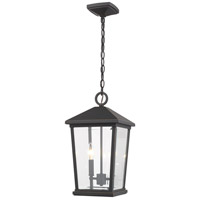 Z-Lite 568CHB-ORB Beacon 2 Light 10 inch Oil Rubbed Bronze Outdoor Pendant