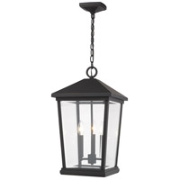 Z-Lite 568CHXL-ORB Beacon 3 Light 12 inch Oil Rubbed Bronze Outdoor Pendant