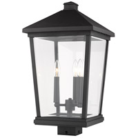 Z-Lite 568PHXLS-BK Beacon 3 Light 22 inch Black Outdoor Post Mount Fixture