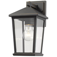 Z-Lite 568S-ORB Beacon 1 Light 12 inch Oil Rubbed Bronze Outdoor Wall Sconce
