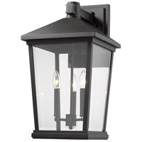 Black Aluminium Outdoor Wall Lights