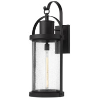 Z-Lite 569XL-BK Roundhouse 1 Light 32 inch Black Outdoor Wall Sconce