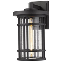 Z-Lite 570B-BK Jordan 1 Light 17 inch Black Outdoor Wall Sconce