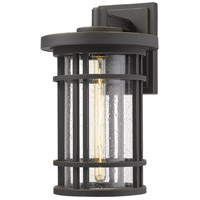 Z-Lite 570B-ORB Jordan 1 Light 17 inch Oil Rubbed Bronze Outdoor Wall Sconce