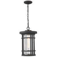 Z-Lite 570CHB-ORB Jordan 1 Light 10 inch Oil Rubbed Bronze Outdoor Pendant