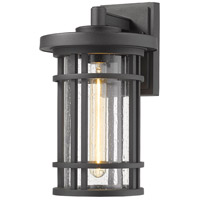 Z-Lite 570M-BK Jordan 1 Light 14 inch Black Outdoor Wall Sconce