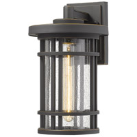 Z-Lite 570M-ORB Jordan 1 Light 14 inch Oil Rubbed Bronze Outdoor Wall Sconce