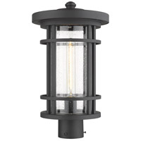 Z-Lite 570PHB-BK Jordan 1 Light 18 inch Black Outdoor Post Mount Fixture