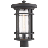 Z-Lite 570PHB-ORB Jordan 1 Light 18 inch Oil Rubbed Bronze Outdoor Post Mount Fixture