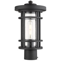 Z-Lite 570PHM-BK Jordan 1 Light 15 inch Black Outdoor Post Mount Fixture