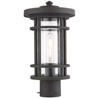 Z-Lite 570PHM-ORB Jordan 1 Light 15 inch Oil Rubbed Bronze Outdoor Post Mount Fixture