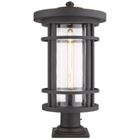 Z-Lite 570PHXL-533PM-ORB Jordan 1 Light 22 inch Oil Rubbed Bronze Outdoor Pier Mounted Fixture
