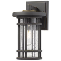 Z-Lite 570S-ORB Jordan 1 Light 11 inch Oil Rubbed Bronze Outdoor Wall Sconce