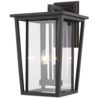 Z-Lite 571B-ORB Seoul 2 Light 19 inch Oil Rubbed Bronze Outdoor Wall Sconce