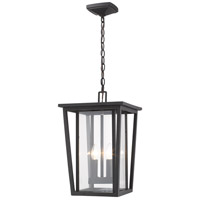 Z-Lite 571CHB-ORB Seoul 2 Light 11 inch Oil Rubbed Bronze Outdoor Chain Mount Ceiling Fixture