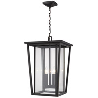 Z-Lite 571CHXL-ORB Seoul 3 Light 14 inch Oil Rubbed Bronze Outdoor Pendant