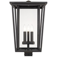 Z-Lite 571PHXLS-ORB Seoul 3 Light 22 inch Oil Rubbed Bronze Outdoor Post Mount