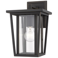 Z-Lite 571S-ORB Seoul 1 Light 12 inch Oil Rubbed Bronze Outdoor Wall Sconce