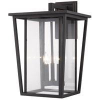 Z-Lite 571XL-ORB Seoul 3 Light 23 inch Oil Rubbed Bronze Outdoor Wall Sconce
