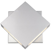 Z-Lite 572B-SL-LED Quadrate LED 11 inch Silver Outdoor Wall Sconce