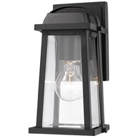 Z-Lite 574S-BK Millworks 1 Light 10 inch Black Outdoor Wall Sconce