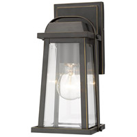 Z-Lite 574S-ORB Millworks 1 Light 10 inch Oil Rubbed Bronze Outdoor Wall Sconce
