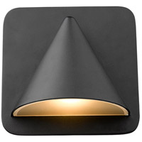 Z-Lite 578BK-LED Obelisk LED 6 inch Black Outdoor Wall Sconce