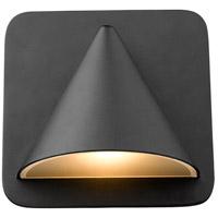 Z-Lite 578BK-LED Obelisk LED 6 inch Black Outdoor Wall Sconce