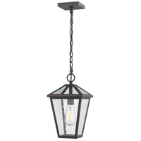 Z-Lite 579CHM-ORB Talbot 1 Light 8 inch Rubbed Bronze Outdoor Pendant