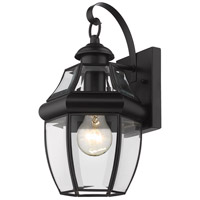 Z-Lite 580S-BK Westover 1 Light 14 inch Black Outdoor Wall Sconce