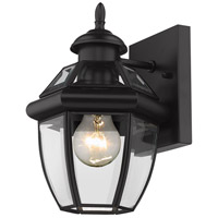 Z-Lite 580XS-BK Westover 1 Light 11 inch Black Outdoor Wall Sconce