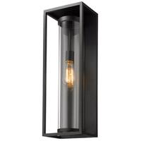 Z-Lite 584B-BK Dunbroch 1 Light 24 inch Black Outdoor Wall Sconce