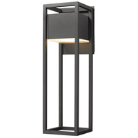 Z-Lite 585B-BK-LED Barwick LED 25 inch Black Outdoor Wall Sconce