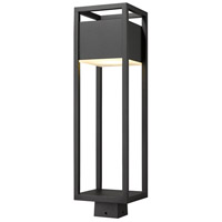 Z-Lite 585PHBS-BK-LED Barwick LED 26 inch Black Outdoor Post Mount Fixture