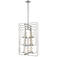 Z-Lite 6000-12-BN Aideen 12 Light 24 inch Brushed Nickel Pendant Ceiling Light