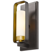 Z-Lite 6000-1S-BZGD Aideen 1 Light 5 inch Bronze Gold Wall Sconce Wall Light