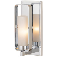Z-Lite 6000-1S-CH Aideen 1 Light 5 inch Chrome Wall Sconce Wall Light