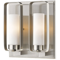 Z-Lite 6000-2S-BN Aideen 2 Light 9 inch Brushed Nickel Wall Sconce Wall Light