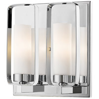 Z-Lite 6000-2S-CH Aideen 2 Light 9 inch Chrome Wall Sconce Wall Light
