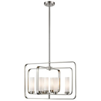 Aideen 8 Light 24 inch Brushed Nickel Pendant Ceiling Light
