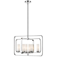 Z-Lite 6000-8A-CH Aideen 8 Light 24 inch Chrome Pendant Ceiling Light