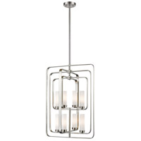 Z-Lite 6000-8B-BN Aideen 8 Light 20 inch Brushed Nickel Pendant Ceiling Light