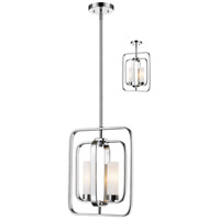 Aideen 2 Light 11 inch Chrome Mini Pendant Ceiling Light
