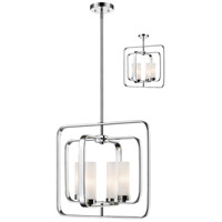 Z-Lite 6000SFC-CH Aideen 4 Light 17 inch Chrome Pendant Ceiling Light