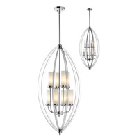 Z-Lite Jaula 8 Light Pendant in Chrome 6001-8