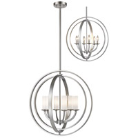 Ashling 6 Light 24 inch Brushed Nickel Pendant Ceiling Light