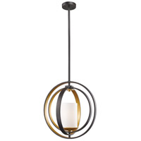 Z-Lite 6002MP-BZGD Ashling 1 Light 14 inch Bronze Gold Mini Pendant Ceiling Light