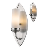 Z-Lite Jaula 1 Light Wall Sconce in Brushed Nickel 6003-1S
