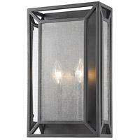 Z-Lite 6005-2S-BRZ Braum 2 Light 9 inch Bronze Wall Sconce Wall Light